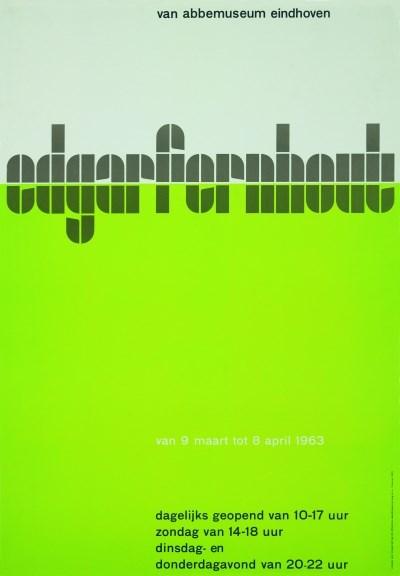 Edgar Fernhout -Wim Crouwel 1963